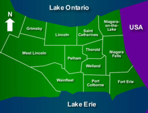 Niagara Region Map